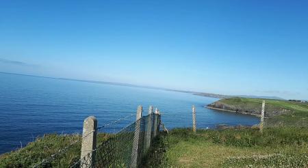 Ireland Copper Coast in the Sunshine