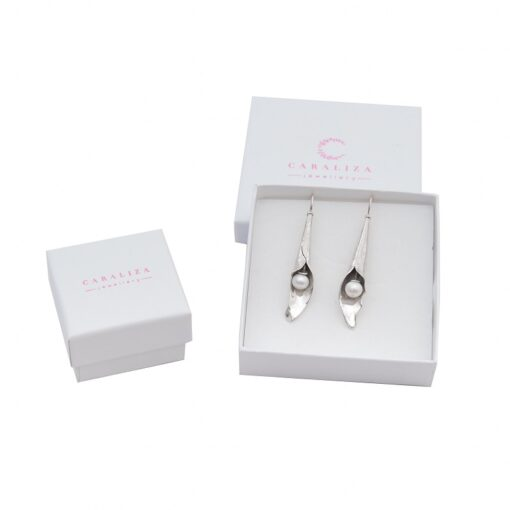 Beautiful gift packaging for ethically handcrafted sterling silver jewellery by Caraliza Designs