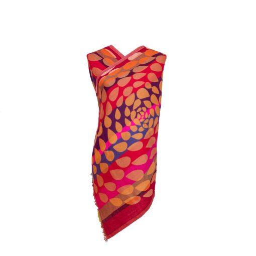 Autumn Petals Merino Wool by Caraliza Designs