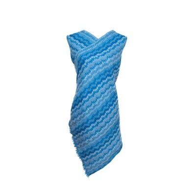 Ocean Waves Merino Wool by Caraliza Designs