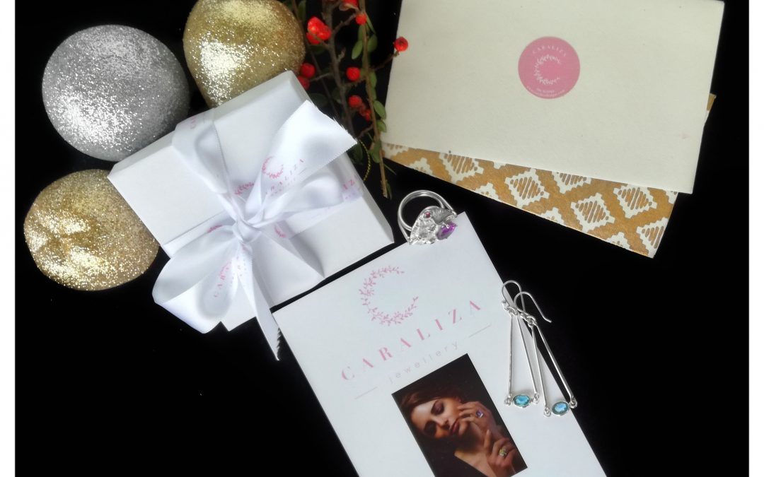 Gift wrapping and that personal touch with Caraliza!