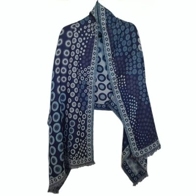 Kandinsky Merino Wool Shawl by Caraliza Designs