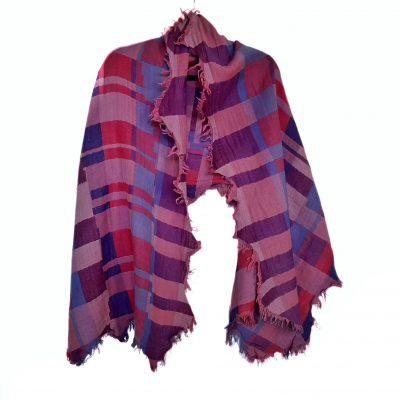 Sustainable Merino Wool Shawl by Caraliza Designs