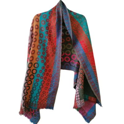 Merino Wool Shawl by Caraliza Designs