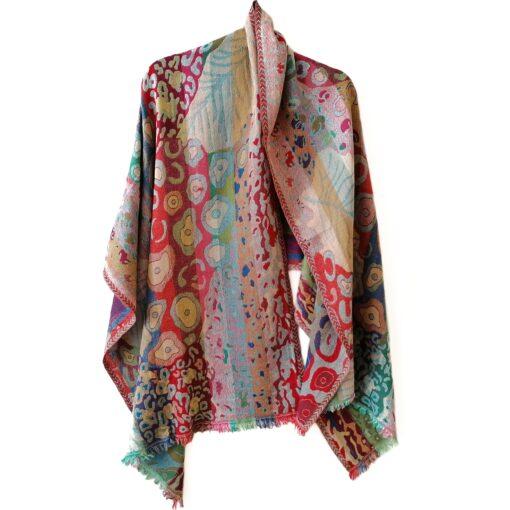 Merino wool shawl by Caraliza Designs