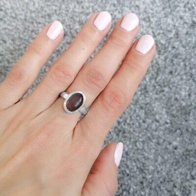Bella Petite Labradorite Ring
