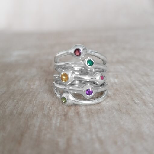 Stronger Together multi-band ring, Irish jewellery ethically handcrafted by Caraliza Designs