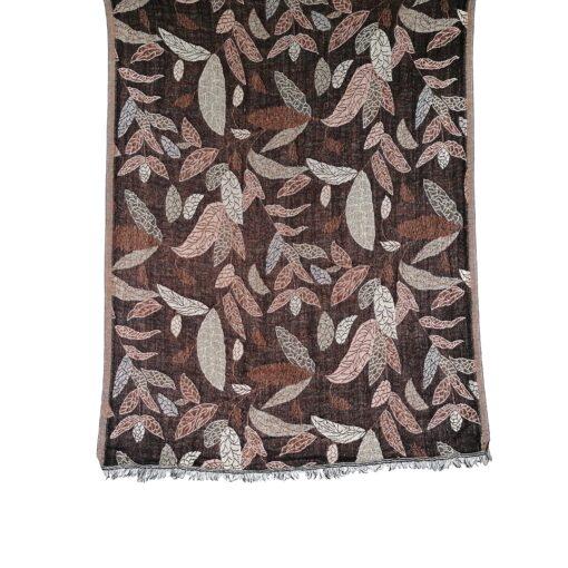Cinnamon Forest Merino Wool Shawl by Caraliza Designs
